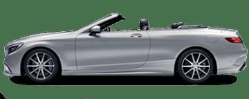 Alquiler de Mercedes S500 Cabrio en Europa