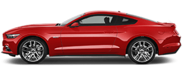 Rent Ford Mustang in Europe