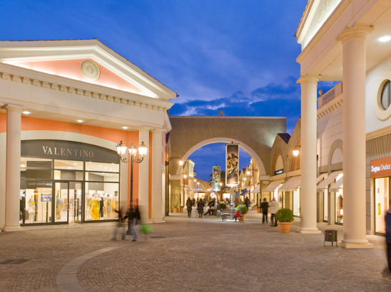 Transfer to Castel Romano outlet from Rome