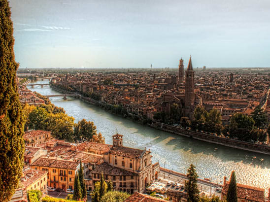 Transfer from Milan to Verona