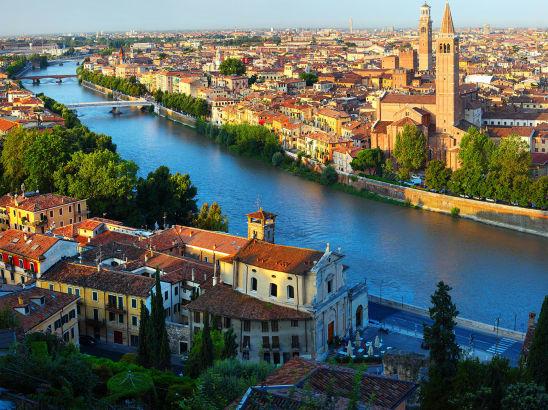 Transfer from Venice to Verona