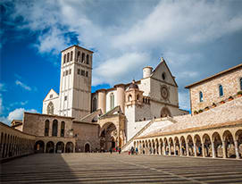 Transfer from Rome to Assisi
