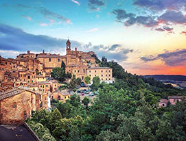 Transfer from Rome to Montepulciano