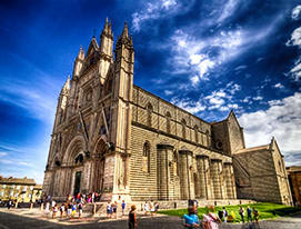 Transfer from Rome to Orvieto