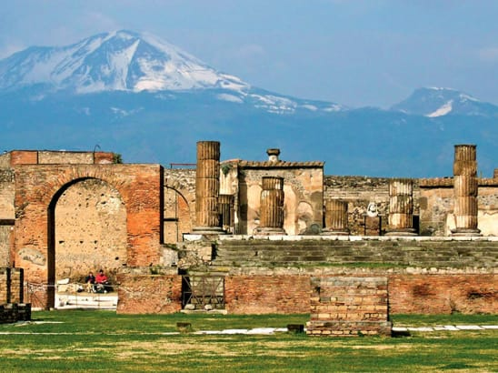 Transfer from Naples airport to Pompeii