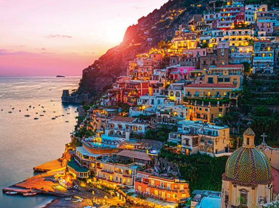 Transfer from Naples airport to Positano