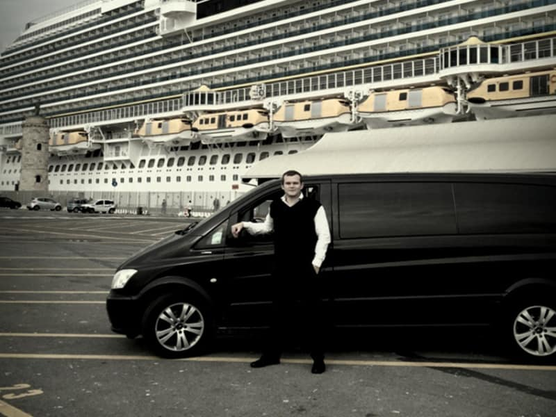 Italian cruise ports limousine service