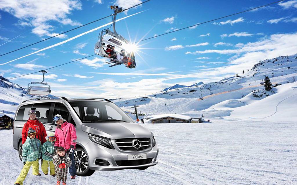 Трансфер на горнолыжные курорты Италии