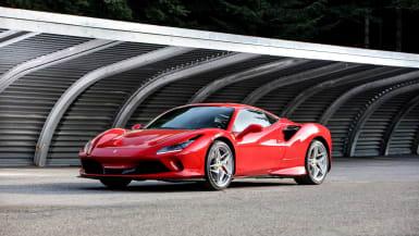 Rent Ferrari F8 Tributo In Munich