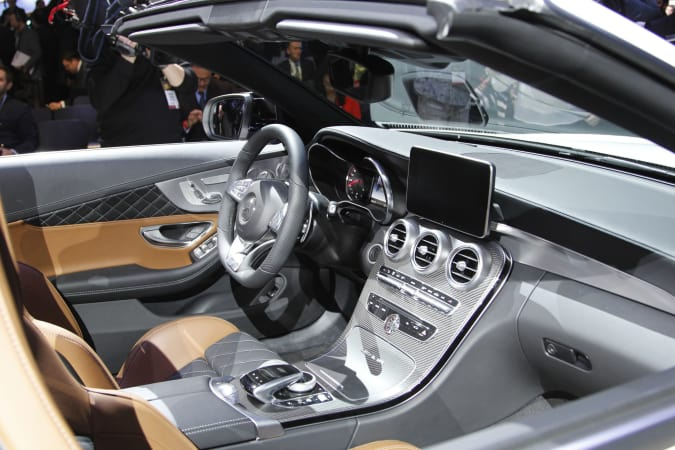 Mercedes C63 Cabrio AMG