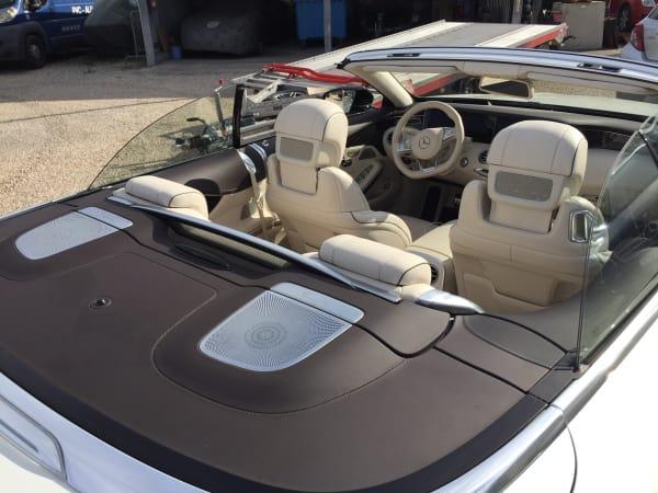 Mercedes S63 Cabrio