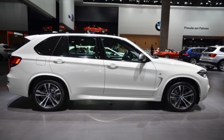 BMW X5 50d White