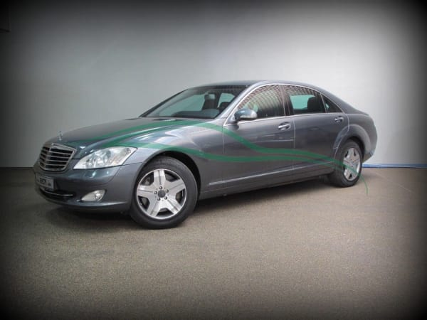 Mercedes S600 Armored