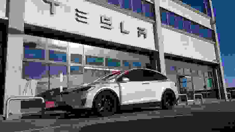 Alquiler Tesla Model X 90D en Venecia