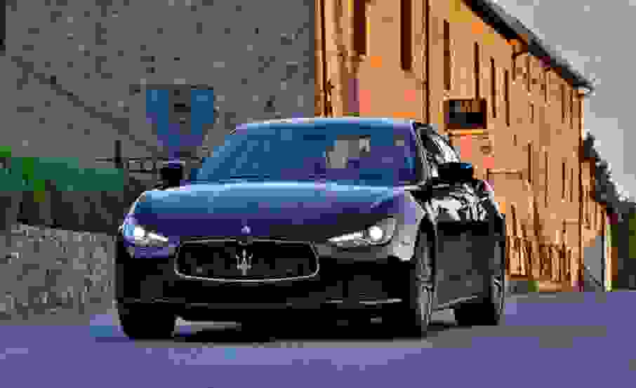Alquiler Maserati Ghibli en Roma