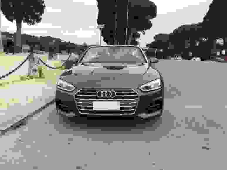 Rent Audi A5 Cabrio in Italy