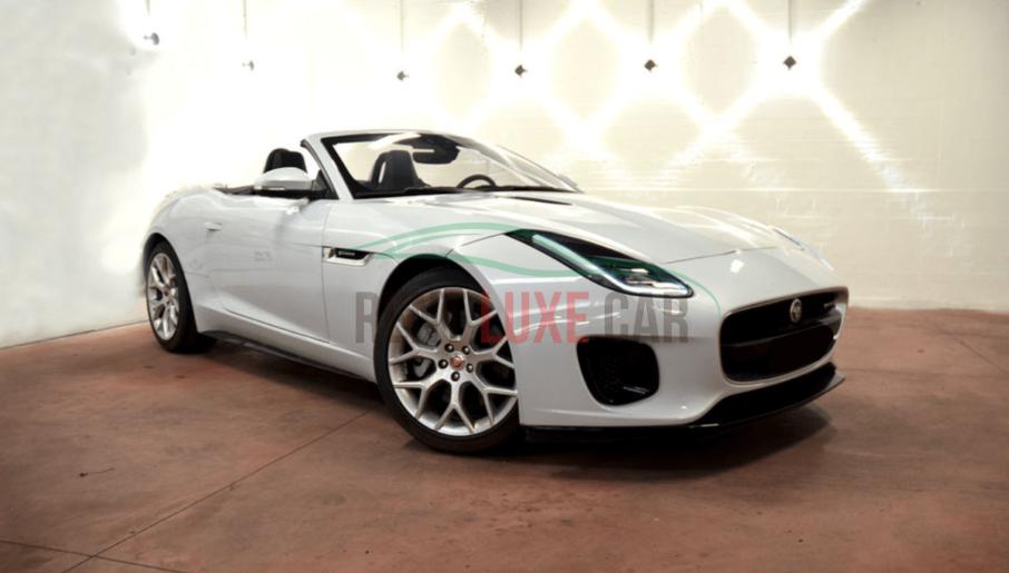 Alquiler Jaguar F-Type Cabrio en Roma