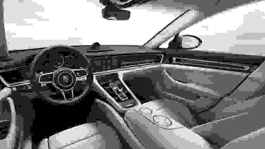 Alquiler Porsche Panamera Turbo S en Roma