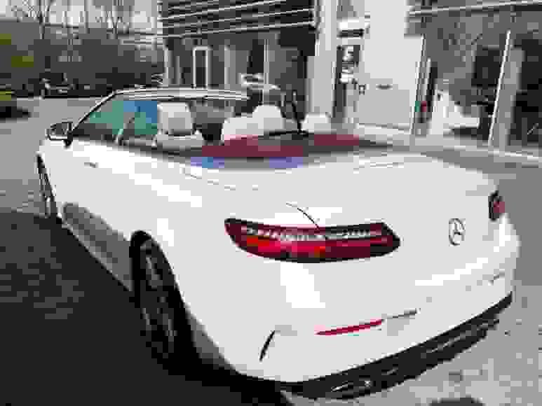 Alquiler Mercedes E Cabrio en Roma