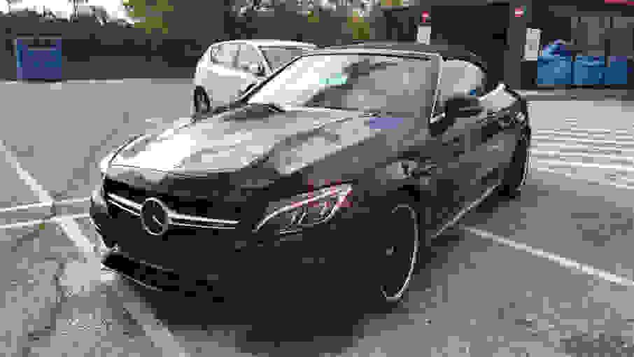 Alquiler Mercedes C63 Cabrio AMG en Milán