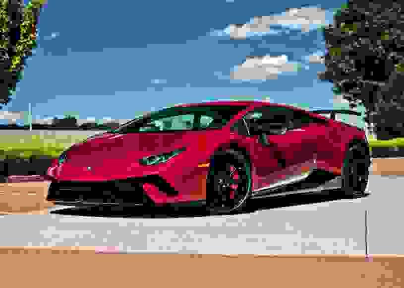 Alquiler Lamborghini Huracan Performante en Milán