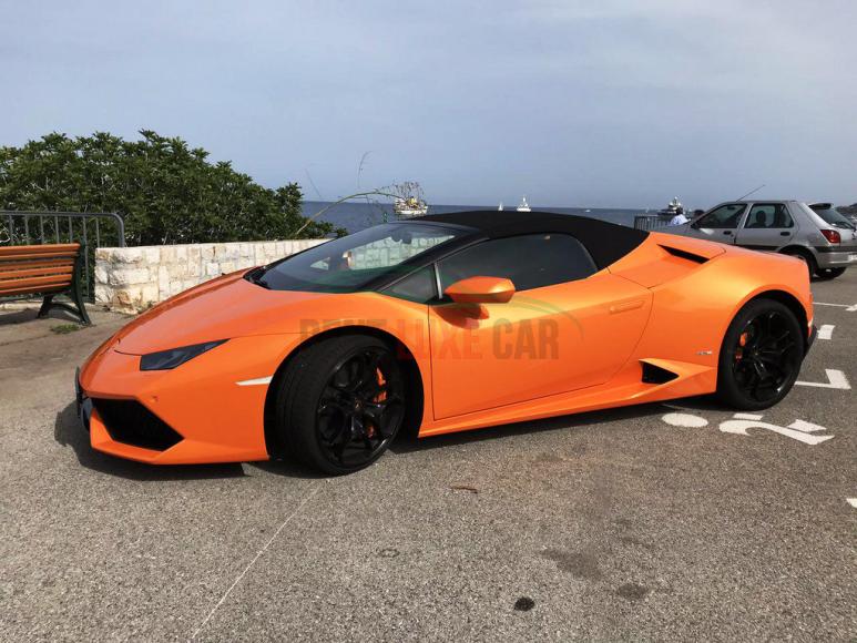 להשכיר Lamborghini Huracan Spyder באירופה