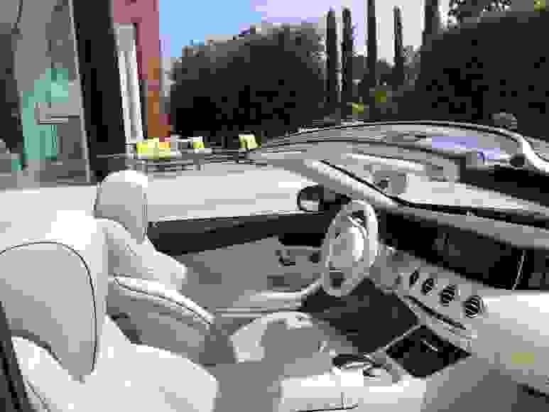 Alquiler Mercedes S500 Cabrio en Roma