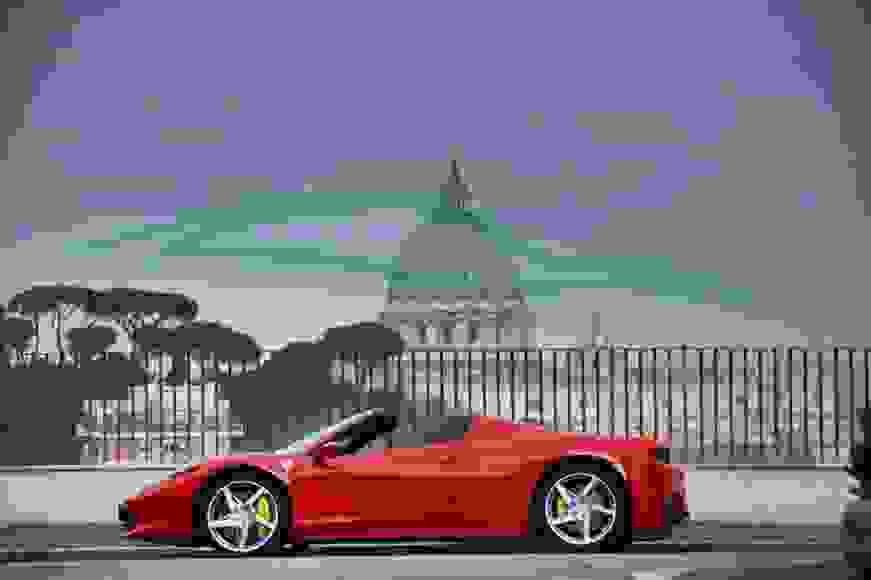 Alquiler Ferrari 458 Spider en Venecia
