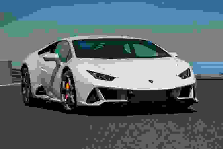 Rent Lamborghini Huracan EVO in Europe