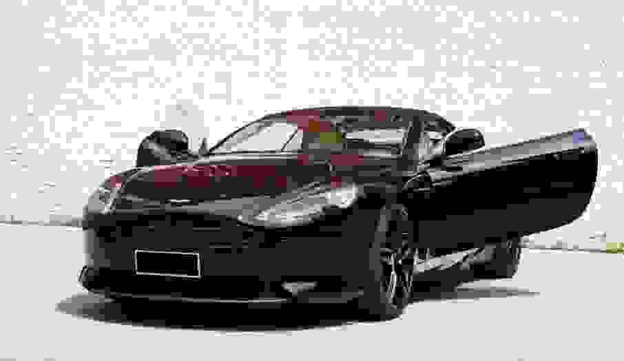 Alugue Aston Martin DB9 em Verona