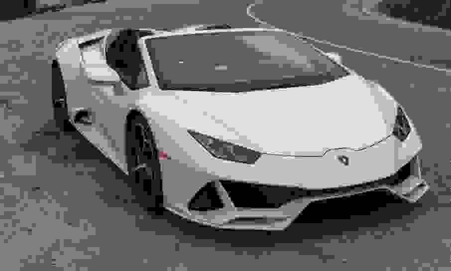 Alquiler Lamborghini Huracan EVO Spyder en Roma