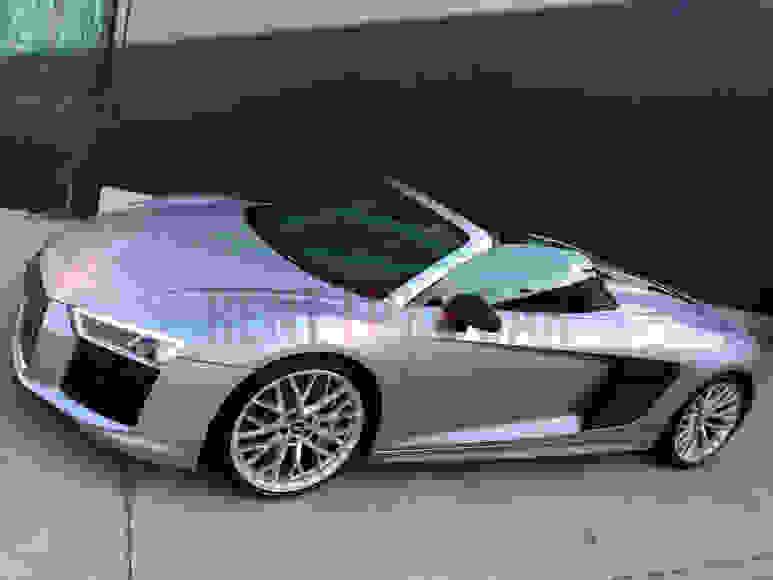 Alquiler Audi R8 en Roma