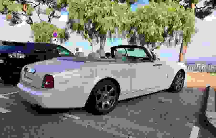 Alquiler Rolls-Royce Drophead en Venecia