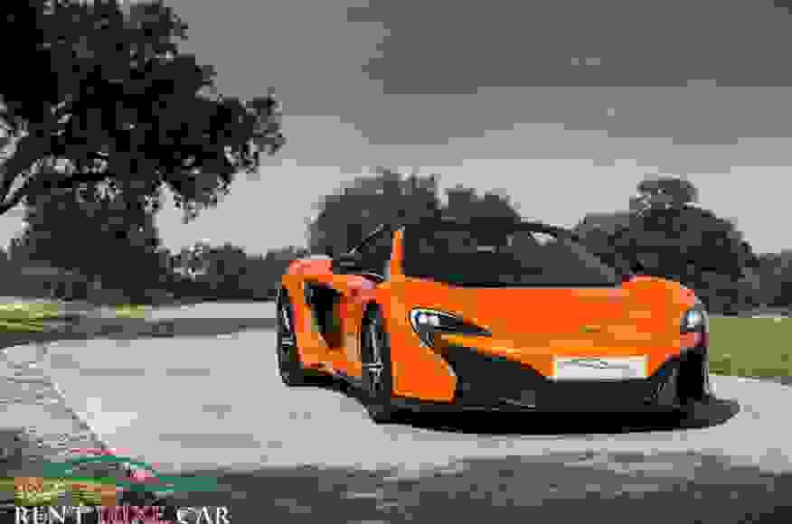 Alquiler McLaren 650S en Roma