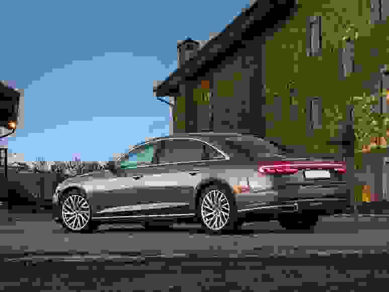 Rent Audi A8 in San Remo