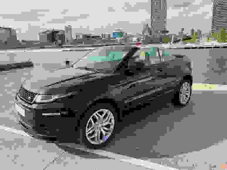 Noleggiare Range Rover Evoque Cabrio a Napoli