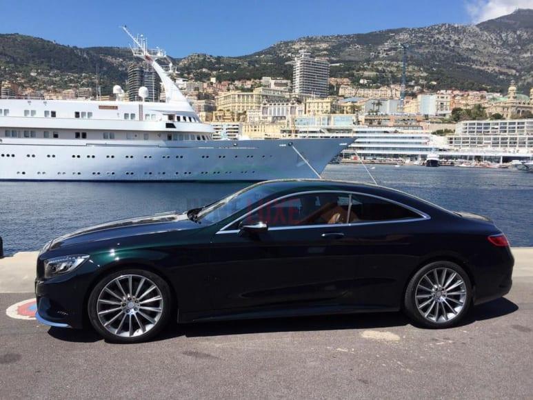 Alquiler Mercedes S Coupe en Abu Dhabi