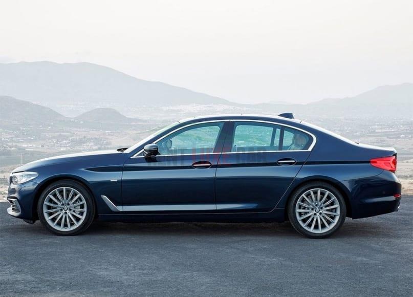 Noleggiare BMW 5 a Napoli