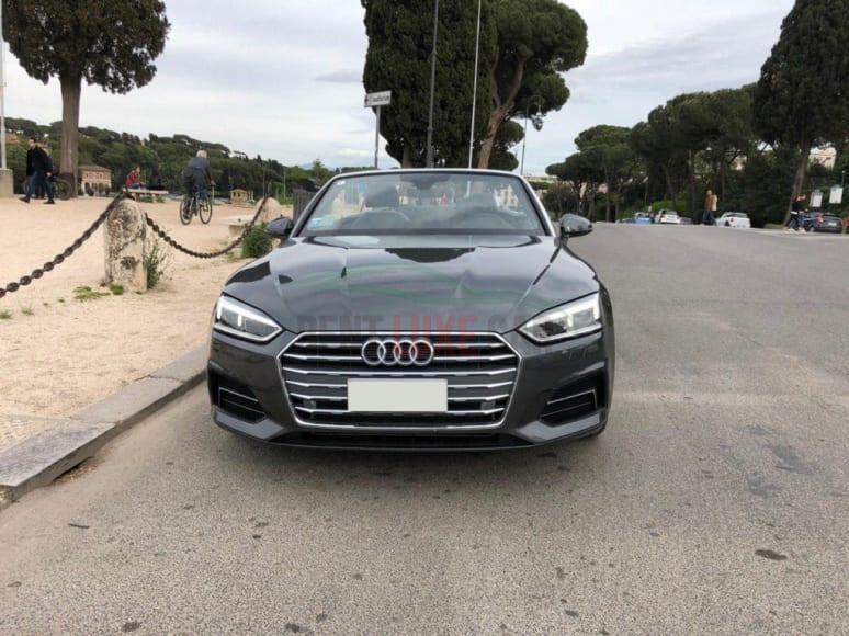 Alugue Audi A5 Cabrio em Abu Dhabi