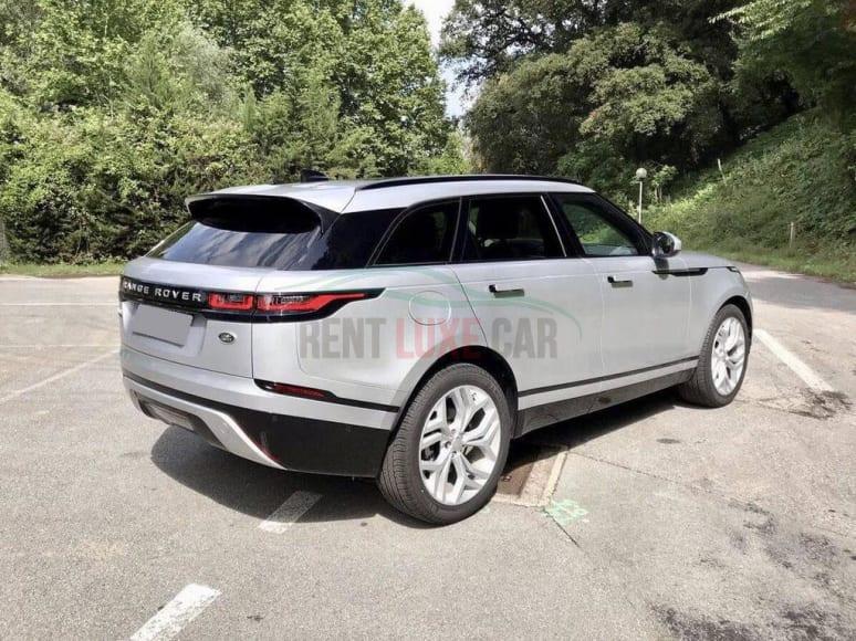 Alquiler Range Rover Velar en Abu Dhabi