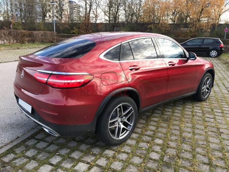Alquiler Mercedes GLC Coupe en Roma
