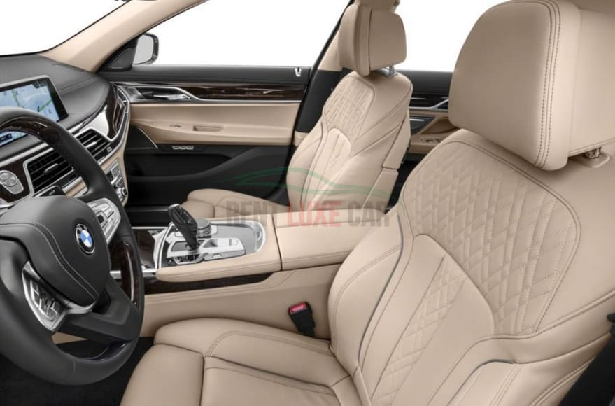 Alquiler BMW 740 XD en Abu Dhabi