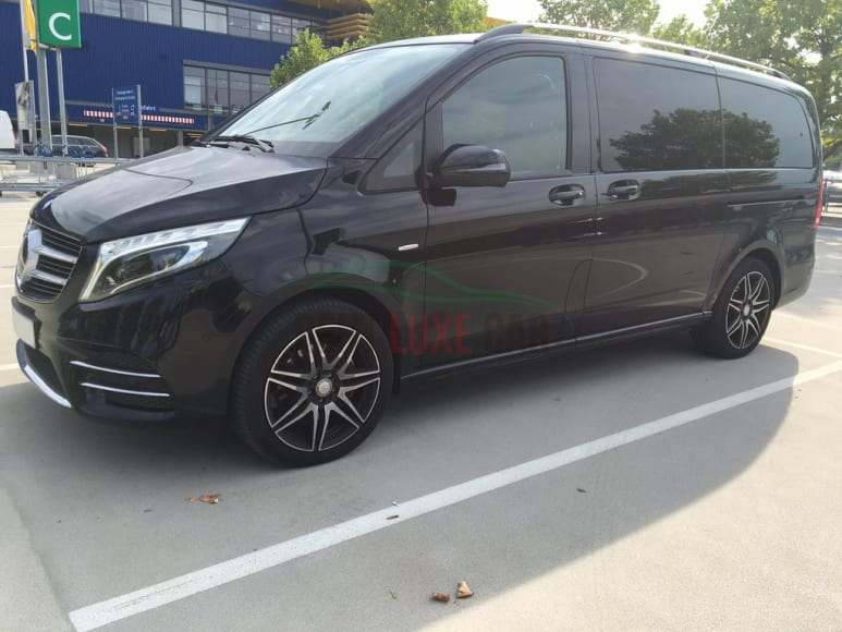 Rent Mercedes V Class AMG in Europe