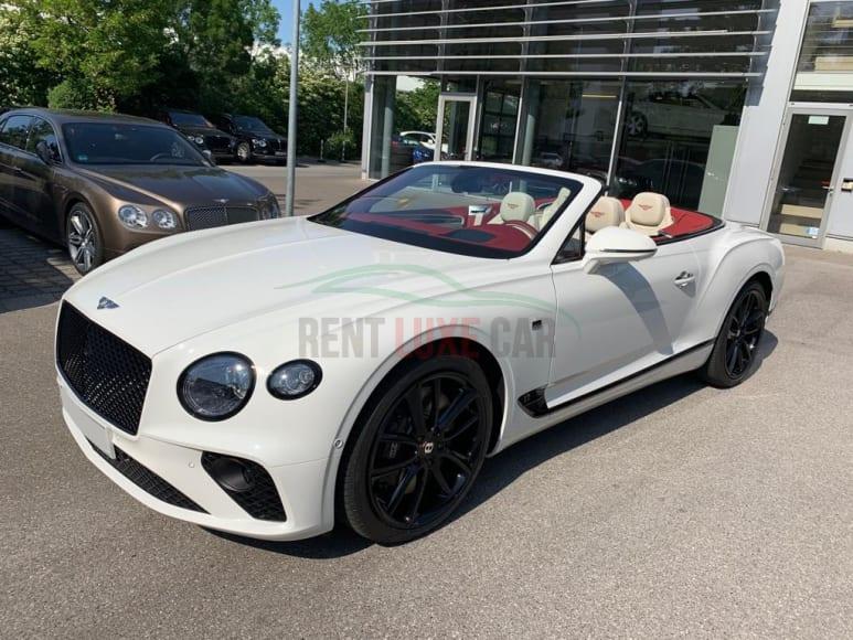 Rent Bentley GTC in Europe
