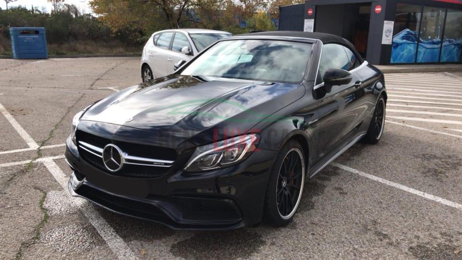 Alquiler Mercedes C63 Cabrio AMG en Roma