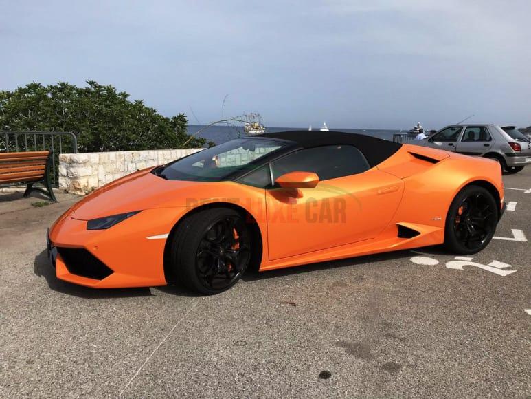 Alugue Lamborghini Huracan Spyder em Abu Dhabi