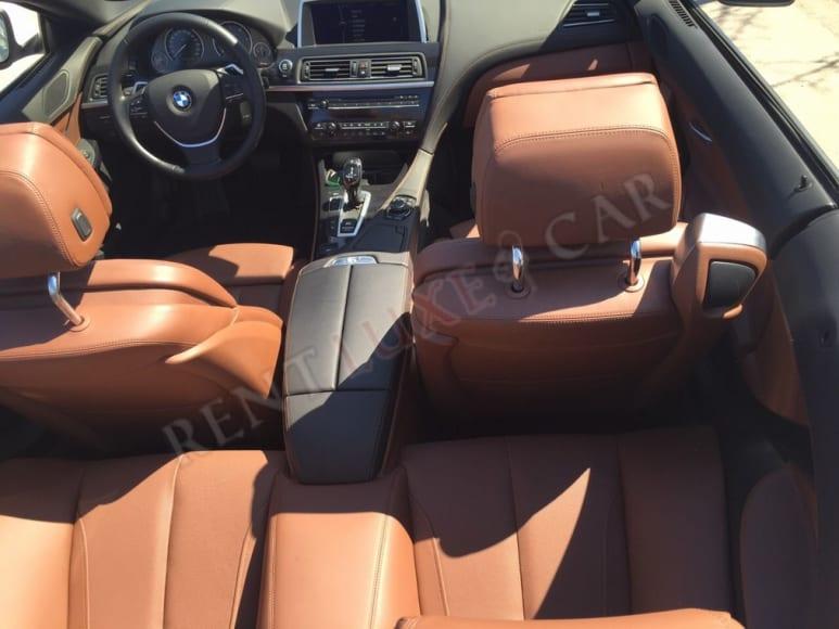 Alquiler BMW 6 Cabrio en el aeropuerto de Amsterdam