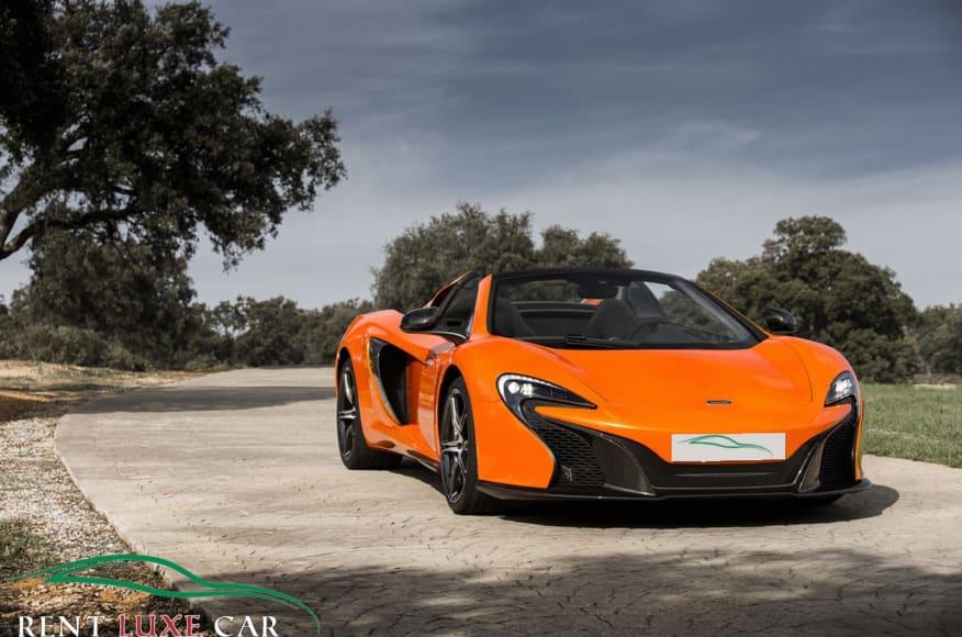 Alquiler McLaren 650S en Abu Dhabi