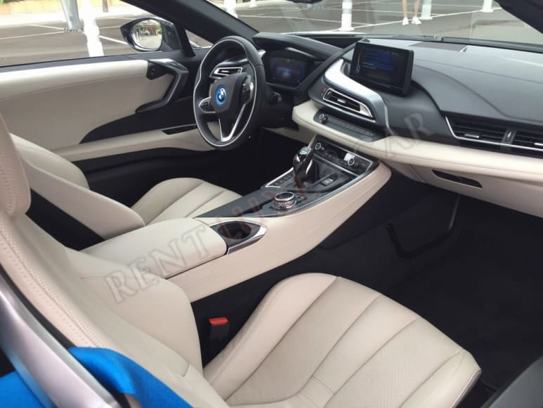 Rent BMW i8 in Frankfurt