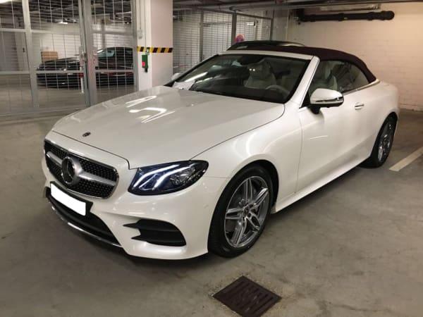Mercedes class E Cabrio